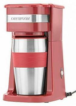 Ultimate 2-In-1 Single Cup Coffee Maker & 14oz Travel Mug Co