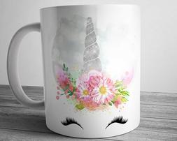 UNICORN Mug 11 oz Silver Unicorn Gifts Unicorn Coffee Cup Gi
