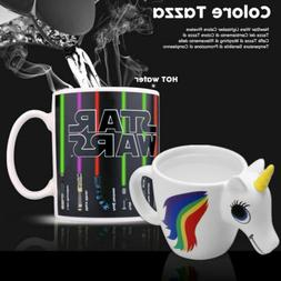 Unicorn Star Wars Lightsaber Mug Heat Sensitive Magic Color