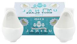 Urinal Shot Glasses Big Shot In Mouth Toilet Fart Poop Pee N
