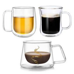 Double Wall Coffee Mug Tea Espresso Cup Thermal Insulated fo