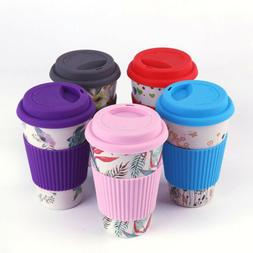 Reusable Bone China Ceramic Travel Mugs Tea Coffee Travel Mu