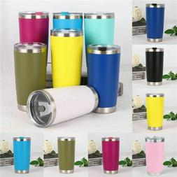 US Hot 20oz Stainless Steel Vacuum Tumbler Insulated Travel