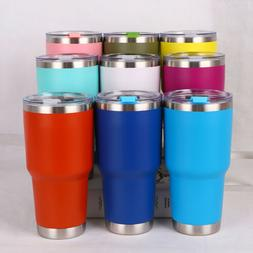 us new 30oz stainless steel vacuum tumbler