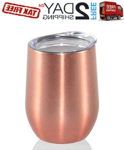 Vacuum Insulated Tumbler Rambler Cup Non-Spill Lid Travel Co