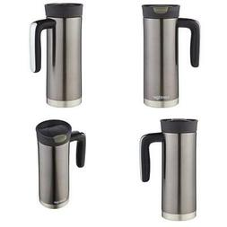Vacuum Thermos SnapSeal 20 oz Stainless Steel Travel Mug Cup