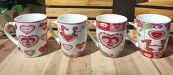 All For You Valentine Love New Bone China Mug with Gift Box