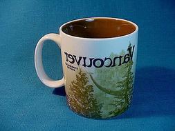 STARBUCKS VANCOUVER Canada ICON CITY Collector series COFFEE