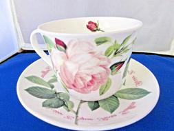 VERSAILLES , FINE BONE CHINA  BREAKFAST CUP SAUCER ROY KIRKH