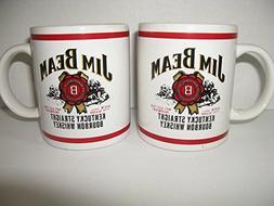 Official Vintage Collector's Jim Beam Monogram Coffee Mug Se