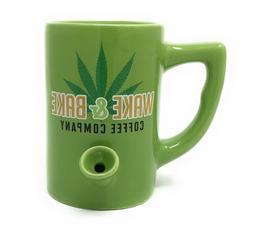 Island Dogs Wake and Bake All in One Ceramic Mug Coffee Cup