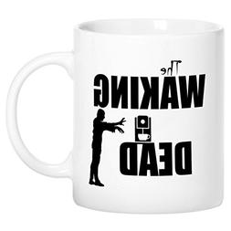 Mugvana The Walking Dead Coffee Zombie Funny Novelty Ceramic