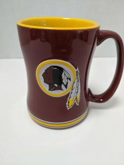 washington redskins brand relief coffee mug 14oz