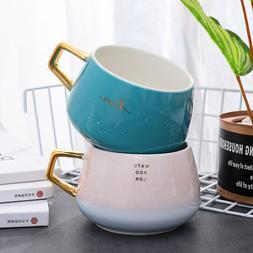 """Water Color"" Beautiful Ceramic Mug Milk Coffee Tea Cups Hom"