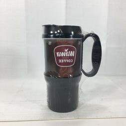 Wawa Gas Station Classic Coffee Mug Brown Insulated Double W