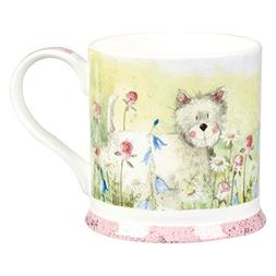 Alex Clark 255 ml Westie Bone China Mug
