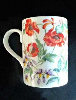 Roy KIRKHAM Wild Flowers Fine Bone China Coffee Tea cup MUG