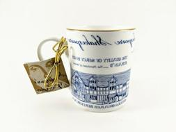 William Shakespeare Coffee Mug Cup Temple Island Collection