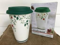 Pfaltzgraff® Winterberry Travel Mug