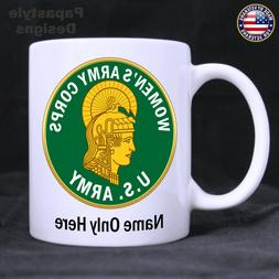 Women's Army Corps Personalized 11oz Coffee Mug. Made in the