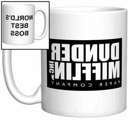 World's Best Boss Coffee Mug  - Coffee Mug Gift 11oz
