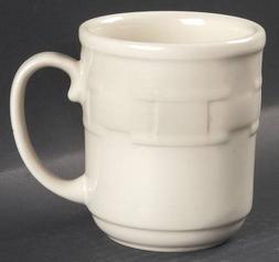 Longaberger Woven Traditions-Ivory Mug, Fine China