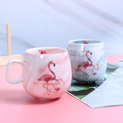 XINLANISNOW Flamingo <font><b>Coffee</b></font> Cup Ceramic