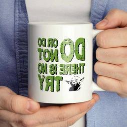 Yoda Coffee Mug | Star Wars Coffee Mug | Do or Do Not There
