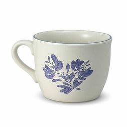 Pfaltzgraff Painted Poppies Jumbo Soup Mug 28-Ounce