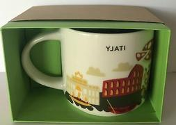 Starbucks You Are Here Collection Italy Ceramic Coffee Mug N