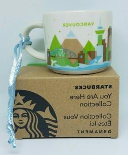 """Starbucks """"You are here""""  Vancouver Canada Ornament Demi 2 o"""