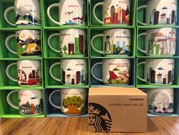 Starbucks YOU ARE HERE - YAH Series 14 oz Coffee Mug, New Wi